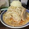 辛くて野菜たっぷりの熱々ラーメンを(^^)/