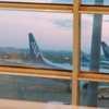 羽田空港第2ターミナル エアポートラウンジ南で朝ご飯! ANA(SFC)修行2019 2-1