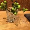 カフェに飾ってあった木の実
