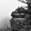 中国山地の秘境風景