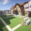【minecraft】マイクラエンカウント 第5回 ~木の学校と植林場~ 【マインクラフト】