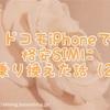 ドコモiPhoneで格安SIMに乗り換えた話(2)〜MNPと解約編〜