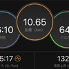 ジョギング10.65km・【ダニエルズ第5週Q3】今週の仕事は体力勝負でしたの巻