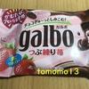 TwitterフォローRTキャンペーンで当選!明治『ガルボ つぶ練り苺』を食べてみた!