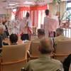 老人施設にて健康祈願祭。