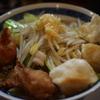 【ニュータマヤ】唐揚げ・餃子の乗った激ウマラーメン|野菜の旨味がふんだんに染み出たスープがうますぎる