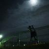 記録写真#545 深夜のチンニング