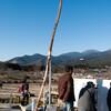 鉄腕DASHで使用した巨大弓を見てきました