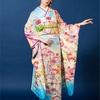 藤井サチさん着用の古典柄振袖