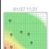 WiFi強度可視化アプリ2つを試す!