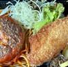 【グリルはせがわ】肉厚ハンバーグ&海老フライ弁当をテイクアウト!唐揚げやトンカツも最高♪