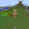 でくクラ_season1_part57(毎日1時間)巨大建築改め村作り!