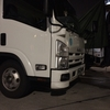 トラックで初のお泊り