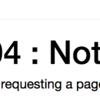 エラー解決:jupyterlabを起動する際に 404 not found
