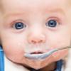 初期の離乳食教室に参加する(生後4ヶ月あたま)