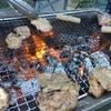 【BBQ食材で積極的に糖質制限】GWは屋外で爽やかにバーベキューに舌鼓♪(サザエ・ホタテ・しいたけ)