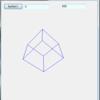 C#3D立方体ワイヤーフレーム (第1回) for VS2013 Express