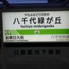 東葉高速鉄道ー4(八千代緑が丘駅)