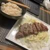 孤独の晩御飯:最近のめしの形・・・麦ごはん、主菜1、副菜1ないし2