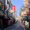 台南  朝の育楽街です
