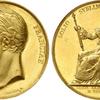 フランス1825年シャルル10世戴冠記念メダル