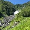 【登山】北岳⑤ 日本2位の最高峰 雪渓編