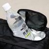 いつでもペットボトルが冷え冷え!保冷ポケット付き多機能バックパックなら、通勤で汗を流しても大丈夫。