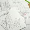 漫画の制作過程~「まじです!」28話より