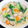冷凍野菜と豚ロース肉の豆乳シチューのレシピ