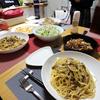 【食事】 今日の晩ごはん 2016/10/20 燻製チキンとパスタ