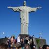 【原因は落雷?】キリスト像の右手指が欠けているのを発見しよう!【ブラジル旅行記】【リオデジャネイロ編】