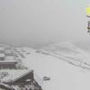 熊本県内では断続的に雪