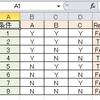 右端に結果を書いた表のCSVから結果を求める
