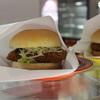 学食プレジールでハンバーガー販売