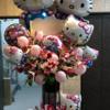 高槻市、茨木市の花屋フラワーポットのバルーン&フラワースタンド!ダントツ人気の商品です。