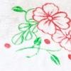 手描きで布に絵柄を付けよう!!オリジナルハンカチやTシャツ、トート等、布に絵を描く