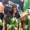 米がサウジに最新兵器供与、12兆円契約に署名