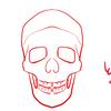 骨格を意識しすぎて描いてみる
