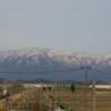 西新発田駅跨線橋からの風景