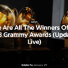 グラミー賞2018 ノミネート速報 | Here Are All The Winners Of The 2018 Grammy Awards (Updated Live)