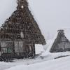 五箇山、菅沼合掌集落の冬・・