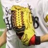 福岡ソフトバンクホークス 明石 健志♯8 2017年使用グラブ(外野用)
