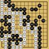 囲碁クエスト対決(13路盤・5級bot・白番)