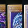 【遊戯王 最新情報】「LEGENDARY GOLD BOX(レジェンダリー・ゴールド・ボックス)」の特典カードとして《ブラック・マジシャン》 《青眼の白龍》 《真紅眼の黒竜》の3枚の内1枚がランダム収録です。注意|プレミアムゴールドレア仕様も判明!