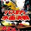 【DVD】フロッグと野良ネズミシリーズ、どちらが釣れるのか!?「バス釣り水面決戦 カエルVSネズミ」発売!