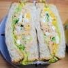 【お家にあるものでご飯】野菜たっぷりツナと玉子のサンドイッチの作り方。