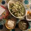 キャベツとゴーヤの梅サラダ