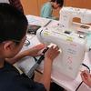 6年生:家庭科 トートバッグ・ナップサック完成へ