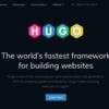 Hugoを使ってGithub Pagesにサイトを公開する(Hugo環境整備まで)