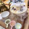 中区長者町の「五条人糖水舗」で糖水搒火锅(椰汁)